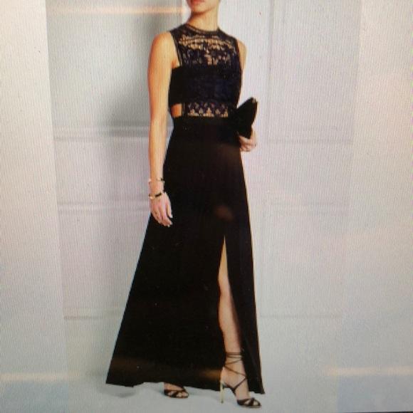 0e9d9560d7eb Self-Portrait Dresses | Selfportrait Guipure Lace Georgette Gown ...